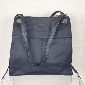 Perlina Tote Bag with Wristlet